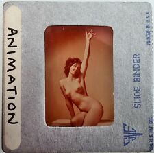 "Original Film Slide Female Nude Breasts ""Animation"" by William Mortensen"