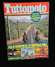 R8   TUTTOMOTO - N. 4 APRILE 1981 - PROVE SU STRADA VESPA P 125 X