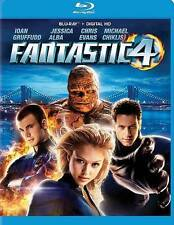 Fantastic 4 NEW Bluray disc/case/cover-no digital/slip Marvel Alba Evans Four