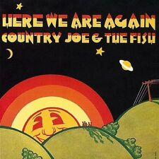 Country Joe & the Fish - Here We Are Again [New CD] UK - Import