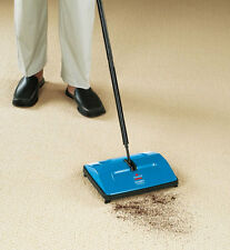 Bissell Sturdy Sweep Manual Cordless Carpet and Floor Sweeper For All Surfaces