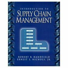 Introduction to Supply Chain Management, Nichols Jr., Ernest L., Handfield, Robe
