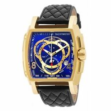 Invicta 15795 Mens S1 Rally Blue Dial Black Band Chronograph Watch