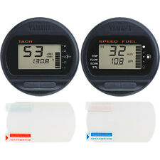 Boat Gauge Screen Protector - Yamaha Command Link® Round Speed & Tach [2-pack]