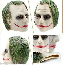 Movie Rubber Latex Joker Batman Mask Masquerade Costume Cosplay Halloween Party