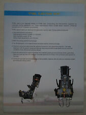 2009 DOCUMENT 1 PAGE RECTO VERSO TY5BL EJECTION SEAT AVIATION INDUSTRY CHINA