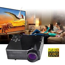 Mini 1080P HD Multimedia LED Projector Home Cinema Theater PC AV VGA USB HDMI US