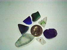 Assorted Surf Tumbled Sea Glass Lot 2008