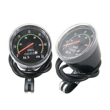Analog Distance Speed Meter bike bicycle Speedometer odometer Vintage style