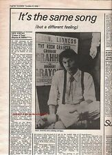 NEIL YOUNG Comes A Time 1978 album review UK ARTICLE / clipping