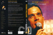 Robbie Williams DVD - LIVE AT THE ALBERT  DVD NEW