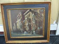 Paul Longenecker Oil on board American 1920 to 2009 dealer or reseller