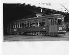 O729 RP 1940s NEW ORELANS LA TRAIN TROLLEY #910