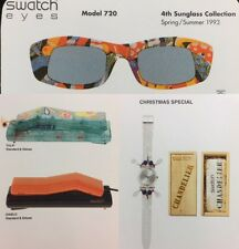 Swatch Watch / Phone / SWATCH Eye Sunglasses / Obsolete AG Mueller Playing Cards