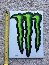 """Monster Energy Logo Sticker Decal Sponsor Sheet Kit 9"""" By 6"""""""