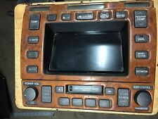 2000 LEXUS LS 400  Multi Monitor RADIO CASSETTE PLAYER  (208)