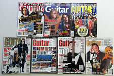 Lot of 7 Various GUITAR MAGAZINES OZZY Osbourne Megadeth FOO Fighters KORN etc.