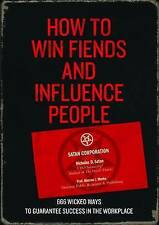How to Win Fiends and Influence People,Lord Satan,New Book mon0000025738