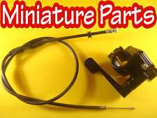 QUAD THUMB THROTTLE AND CABLE RESTRICTABLE KEERKAT 73CM CABLE 50CC 70CC