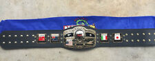 NWA WORLD HEAVYWEIGHT CHAMPIONSHIP WRESTLING BELT WCW RIC FLAIR WWE WWF DOME ROH