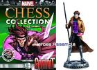 MARVEL CHESS COLLECTION #48 GAMBIT FIGURINE EAGLEMOSS X-MEN (46 47)