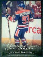 RYAN NUGENT-HOPKINS 11/12 UD CANVAS YOUNG GUNS ROOKIE VARIATION CARD SP