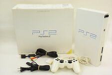 PS2 Console System SCPH-50000 Ceramic White Playstation 2 JAPAN Ref/AJ4734625
