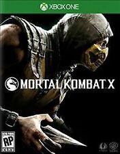 MORTAL KOMBAT X (2015) MICROSOFT XBOX ONE~ BRAND NEW~ FACTORY SEALED~