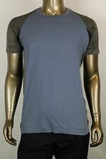 New Bottega Veneta Men's Blue Gray T-Shirt IT 52/US 42 306434 4770