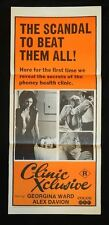 DAYBILL MOVIE POSTER - ORIGINAL - CLINIC XCLUSIVE  R