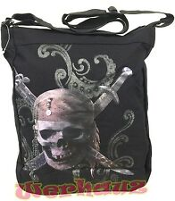 Pirates of the Caribbean tote Skull Messenger bag, NEW