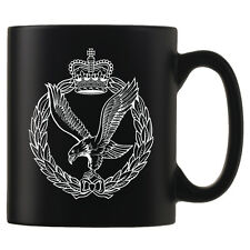 Army Air Corps - Personalised Black Satin Mug