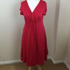 Phase Eight RED Dress Size 16 Smart Casual Office Work Date Night Easy Care