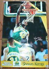 Shawn Kemp NBA Sports Illustrated 1991 Poster