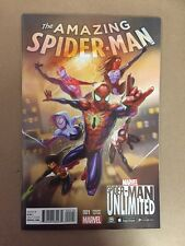 AMAZING SPIDER-MAN # 1 SPIDERMAN UNLIMITED GAME VARIANT 1ST PRINTING (2015)