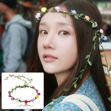 Floral Flower Festival Wedding Garland Forehead Hair Head Band