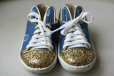 MINNA PARIKKA BABY DENIM BUNNY SNEAKERS SHOES EU 21 UK 4/5