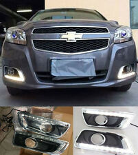 LED Daytime Running Light For Chevy Chevrolet Malibu Fog Lamp DRL 2013 2014 2015