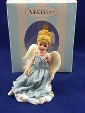 "Madame Alexander Blue Mist Angel 4 1/2"" Resin Figurine 2001 #91560"