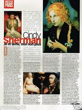 Coupure de Presse Clipping 1999 (1 page) Cindy Sherman
