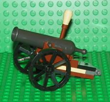LEGO - Minifig, Weapon Cavalry Army Canon on Wheels w/ Ram Rod