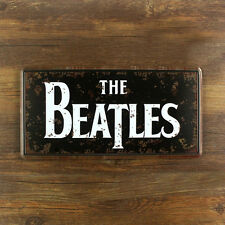 The Beatles Sign Metal Sign Tin Plate- 30x15cm
