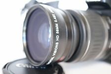 Macro Wide Angle Lens for Canon Eos Digital Rebel & T5i sl1 XT w/18-55 IS & STM