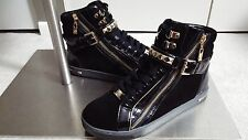 New Michael Kors GLAM STUDDED HIGH TOP Fashion Sneakers Size 7.5