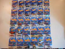 L@@K HUGE LOT OF 30 Hot Wheels FIRST EDITIONS BASIC MIXED YEAR 1/64 DIECAST CAR
