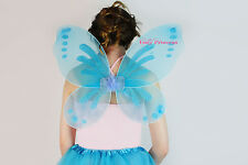 UK STOCK FAIRY PRINCESS PIXIE WINGS - PIXIE DRESS UP SETS - FAIRY DRESS UP SETS