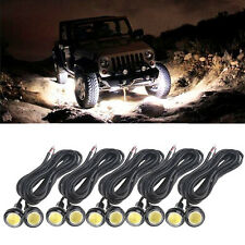 10x Eagle Eye Car Auto DRL LED Rock Lights Backup Lamp Under Trail Rig Lights