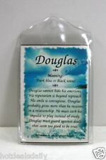 DOUGLAS WHAT'S IN A NAME MAGNETS MEANING OF NAME HISTORY OF NAME AND ATTRIBUTES