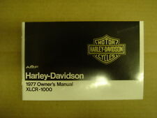 NOS HARLEY AMF 1977 XLCR CAFE RACER XL 1000 OWNERS MANUAL BOOK SPORTSTER 99468-7