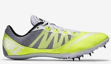 NIKE Zoom Rival S 7 Track Field Running Shoes Sprint Spikes Volt White US 13